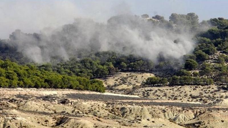 القصرين: حريقان في جبلي السلّوم وسماّمة