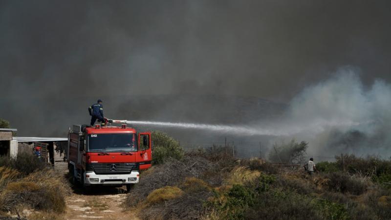 باجة: السيطرة على حريق جبل صباح