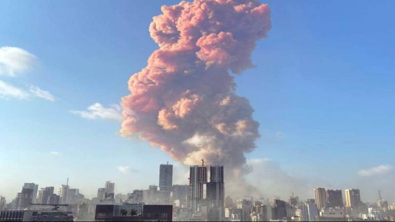 وزير الصحة اللبناني: مفرقعات نارية هي سبب الإنفجار الذي هز بيروت