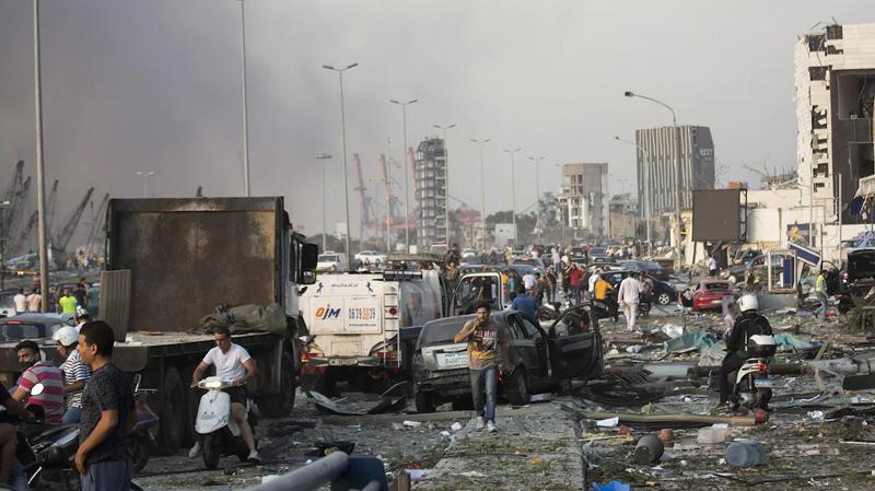 ارتفاع عدد ضحايا انفجار بيروت والجرحى بالآلاف