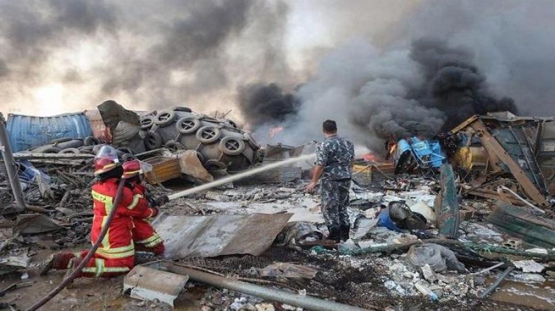 فاجعة بيروت: إرتفاع عدد الضحايا