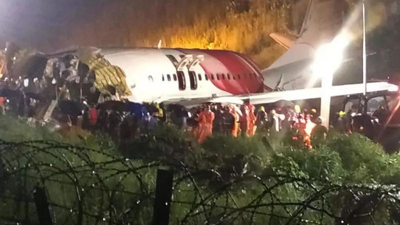 ارتفاع عدد ضحايا الطائرة الهندية المنكوبة
