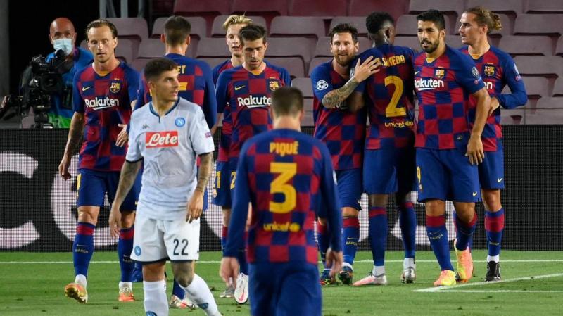 دوري الأبطال: برشلونة يطيح بنابولي ويضرب موعداً مع البايرن