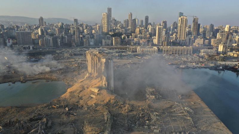 انفجار مرفأ بيروت أحدث حفرة بعمق 43 مترا