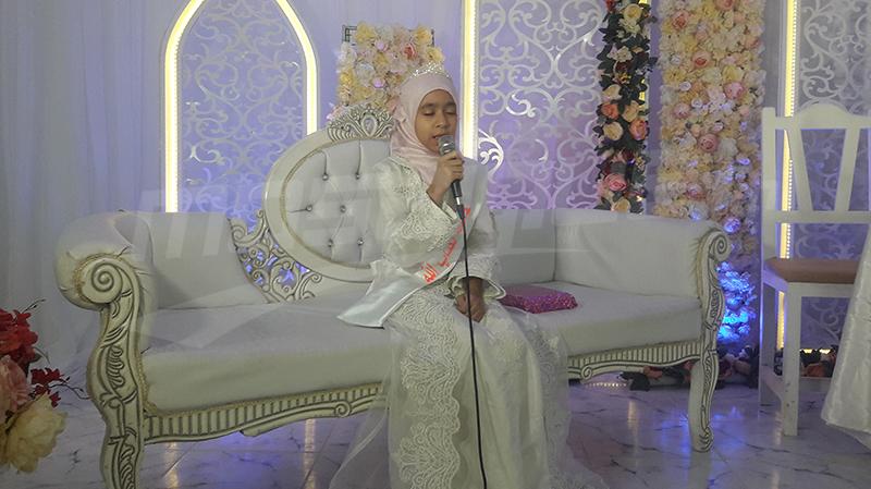 مريم عثماني أصغر حافظة للقرآن في تونس