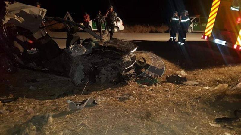 وفاة تونسي في حادث مرور بالجزائر