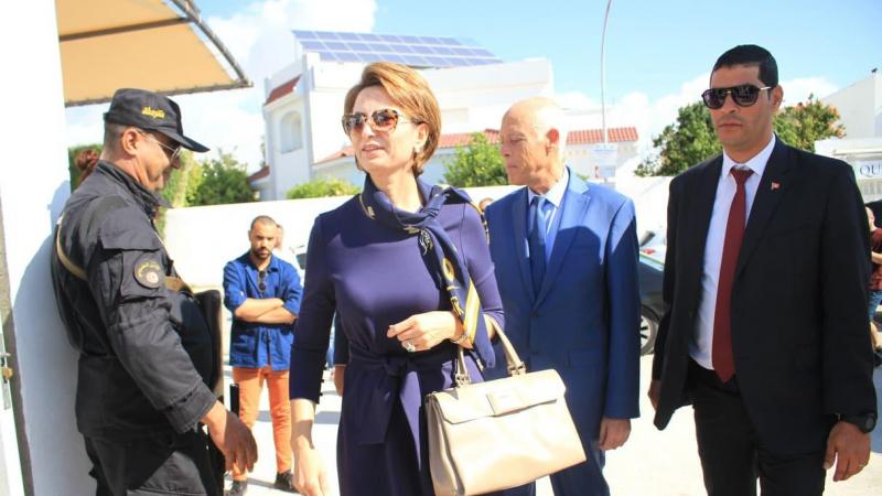 الحركة القصائية: نقل زوجة رئيس الجمهورية إلى صفاقس