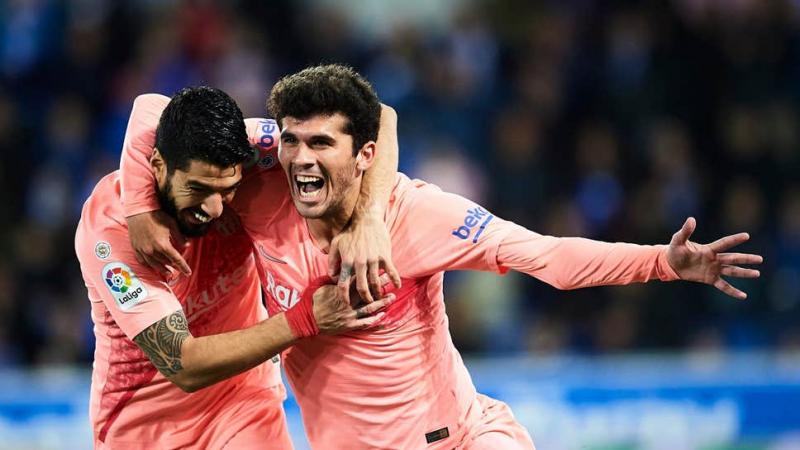 كورونا: لاعب برشلونة في الحجر الصحي..