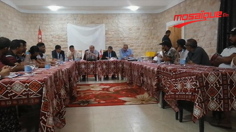 تطاوين: فشل المجلس الوزاري وممثلو تنسيقة الكامور يغادرون الجلسة