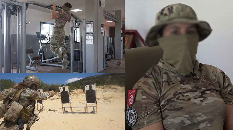تونسية لا تعرف المستحيل.. زينب 'بطلة' الوحدة المختصة للحرس