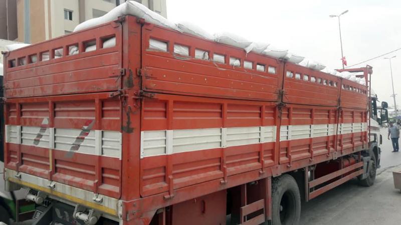 أريانة: حجز 15 طنا من مادة السداري المدعم