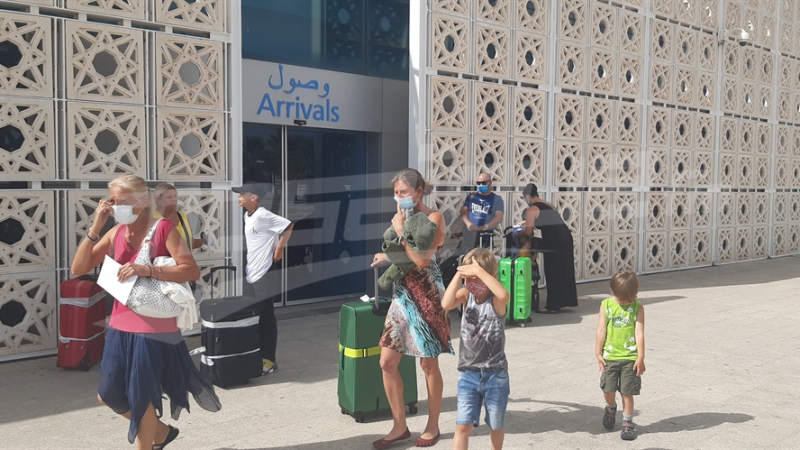 مطار النفيضة يستقبل سياحا من براغ