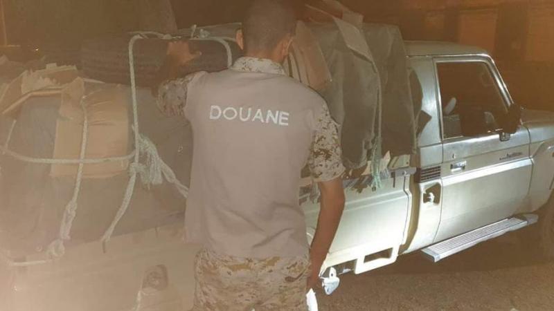 الحرس الديواني بالصمار يحجز 17 ألف علبة دواء مهرّبة