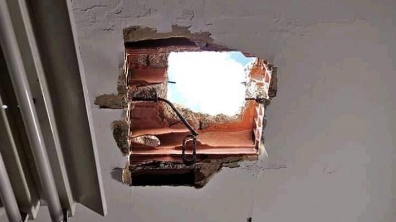 زرمدين: يثقبون السطح لسرقة محل لبيع المصوغ
