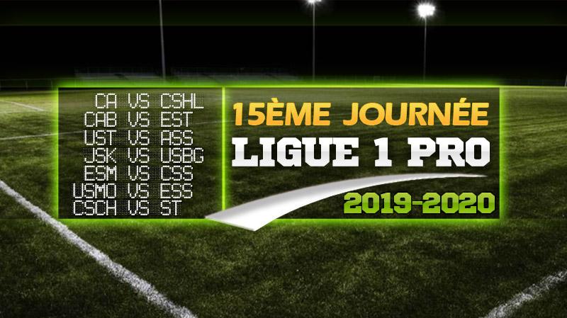 15 ème journée Ligue 1