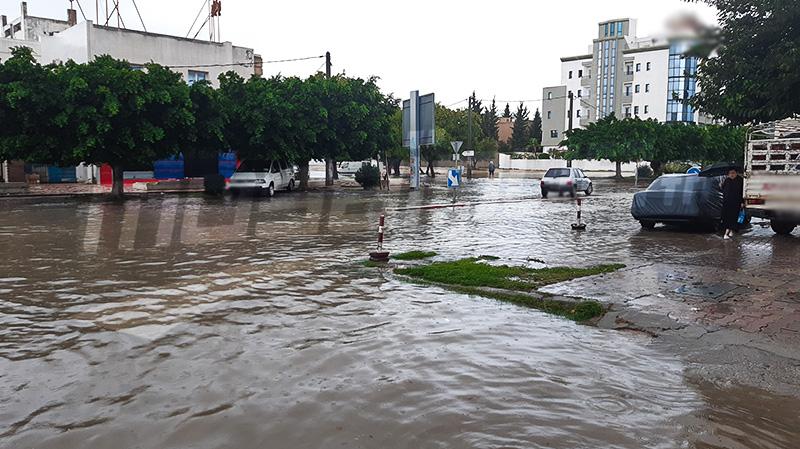 سوسة: منسوب مياه الأودية يرتفع