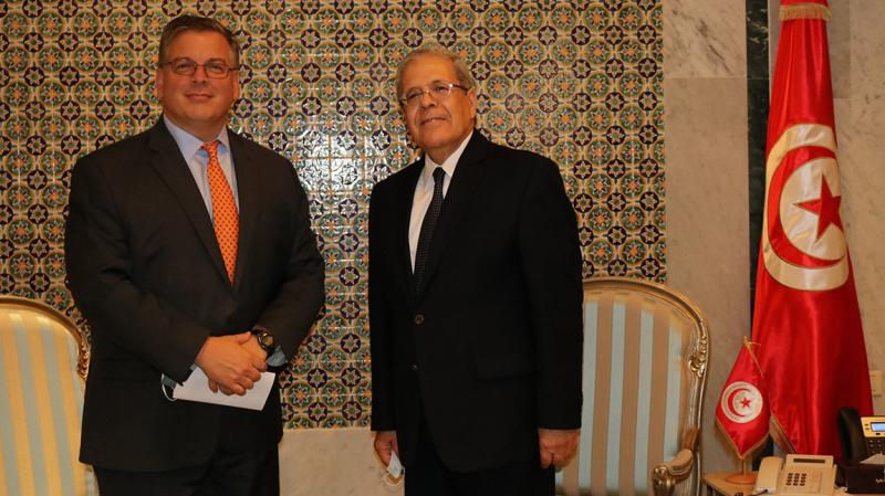 الجرندي للسفير الأمريكي: تعاوننا إستراتيجي ومستعدون لتعزيزه