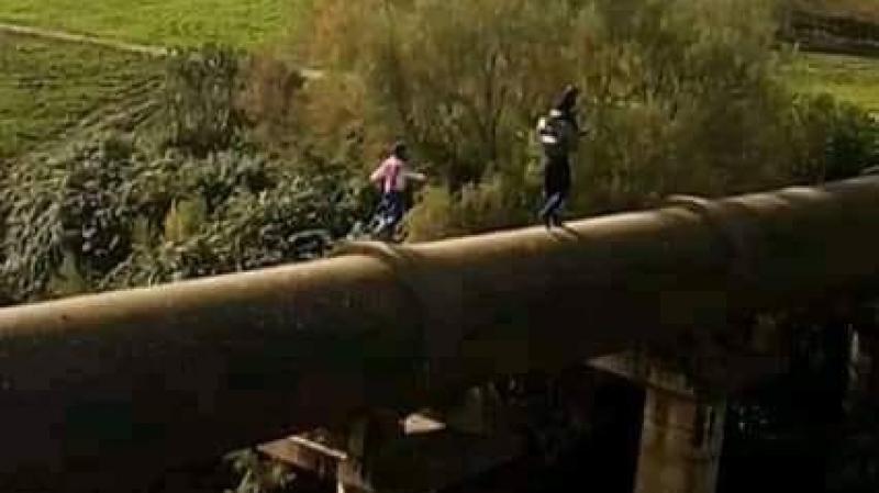 المشيشي يطلب بناء جسريؤدي لمدرسةالخليفات ببوسالم