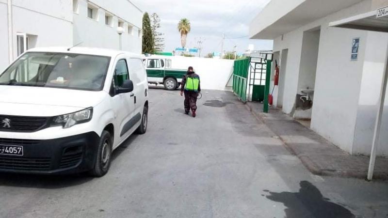 غلق قسم الحالة المدنية ببلدية قرمبالية بسبب كورونا