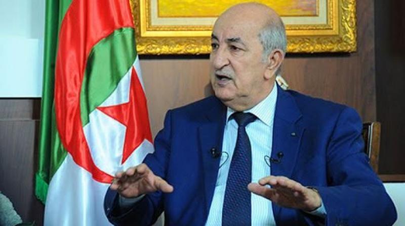 تبون: الجزائر لن تطبع أبدا مع الكيان الصهيوني..