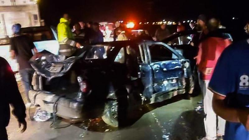 الكاف: حادث مرور مُريع يتسبب في وفاة رضيع وجرح 13 شخصا