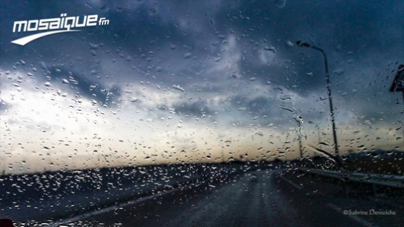 الثلاثاء: طقس مغيم وأمطار رعدية في عدد من المناطق