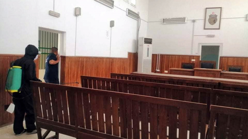 6 إصابات بكورونا في المحكمة الابتدائية بتونس