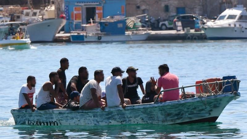 9200 مهاجرا تونسيادخلوا إيطاليا عن طريق البحر