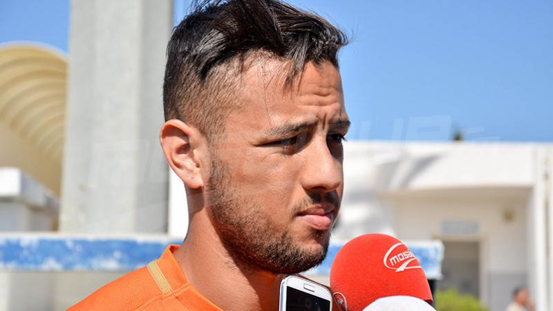 لاعبو الترجي يودّعون إيهاب المباركي