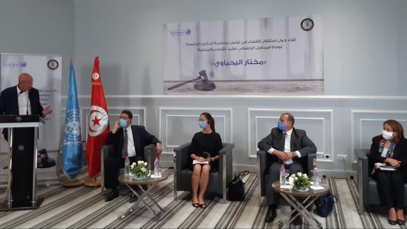 الإستقلال الوظيفي وبعث جمعية مختار اليحياوي مقترحات لإصلاح القضاء
