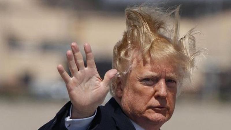 ترامب ينفق 70 ألف دولار لتصفيف شعره