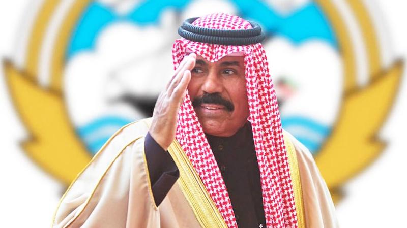 الشيخ نواف الأحمد الجابر الصباح أميرا لدولة الكويت