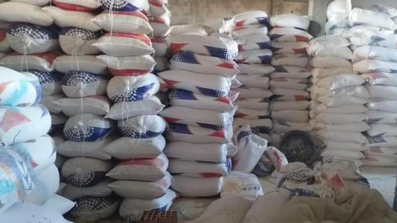 سبدي بوزيد: حجز 75 طنا من السميد الغذائي المدعم