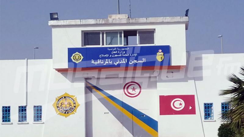 سجن المرناقية: إصابة 34 سجينا و05 أعوان بكورونا