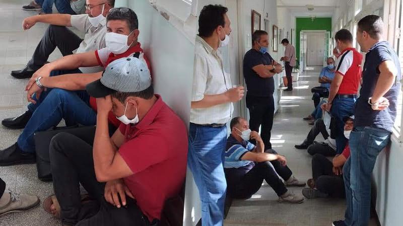 قليبية: إعتصام مفتوح للمدرسين وتلويح بإضراب عام