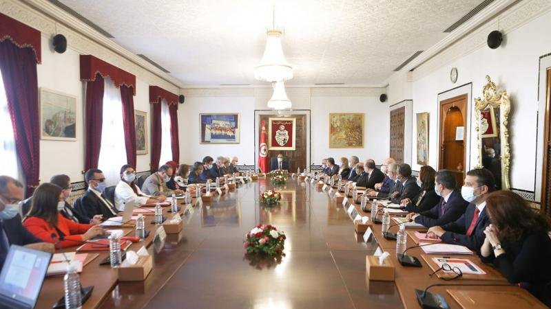 في أول مجلس وزراء لحكومة المشيشي: المصادقة على مشروع قانون المالية2021