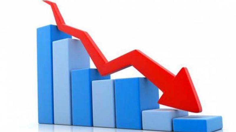 البنك المركزي: تراجع الإقتصاد بنسبة 11.9 % بالأسعار القارة