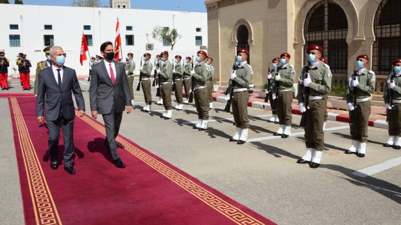 تونس توقع خارطة طريق لتطوير علاقاتها العسكرية مع الولايات المتحدة