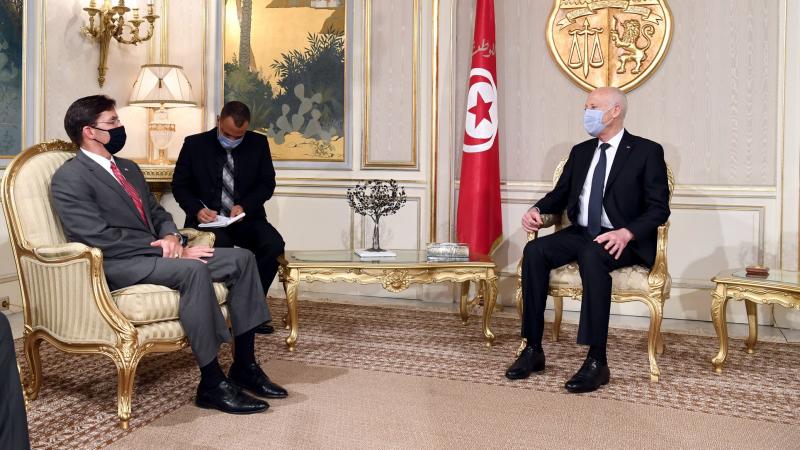 مارك إيسبر لسعيد: متعدون لدفع التعاون مع تونس في مختلف المجالات..