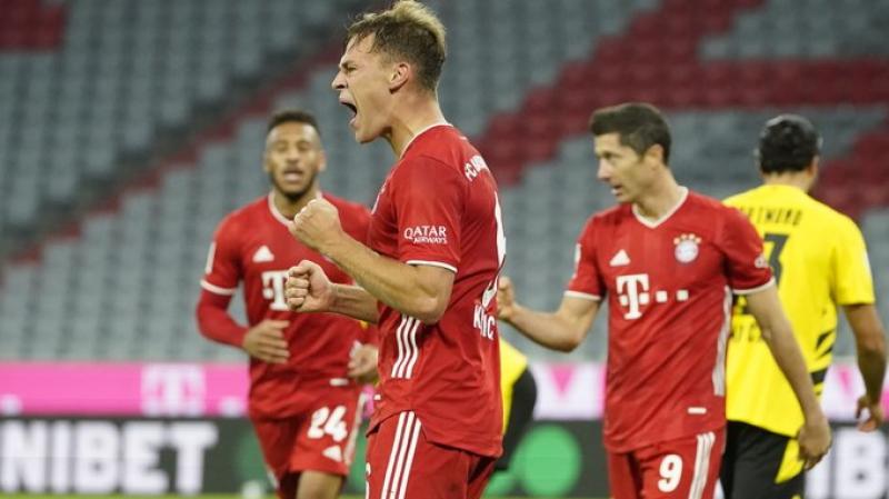 بايرن ميونيخ يحرز كأس السوبر بفوزه على بوروسيا دورتموند