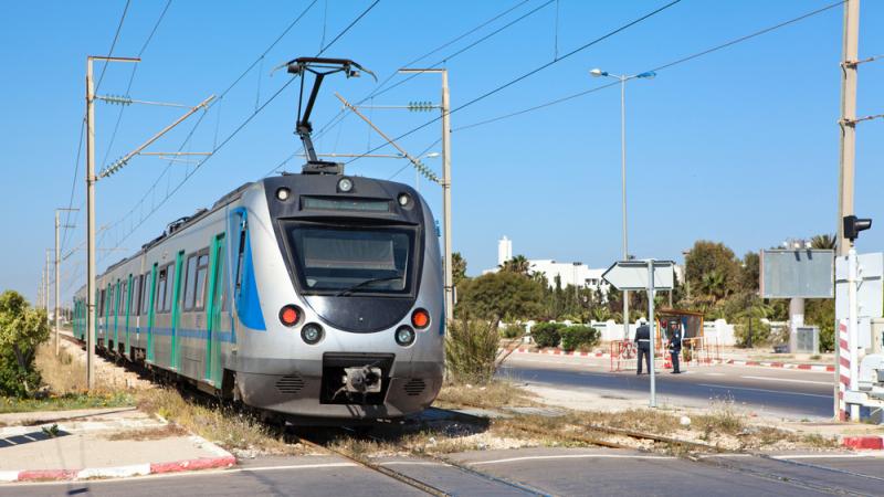توقف سير قطارات تونس الجنوبية