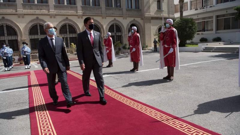 إيسبر: سعيد بزيارة تونس.. حليفنا الإستراتيجي والمهم في إفريقيا