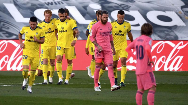الليغا:  ريال مدريد يخسر أمام قادش بهدف نظيف