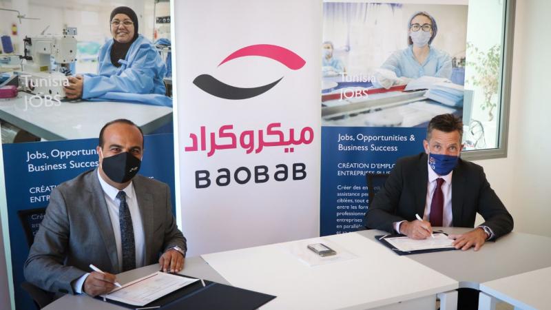 بالشراكة مع مؤسستي تمويل: أمريكا تدعم 13 ألف شركة تونسية