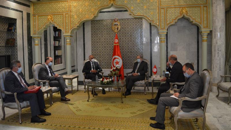 الجرندي يلتقي  وكيل وزارة الخارجية الليبية التابعة لحكومة الوفاق
