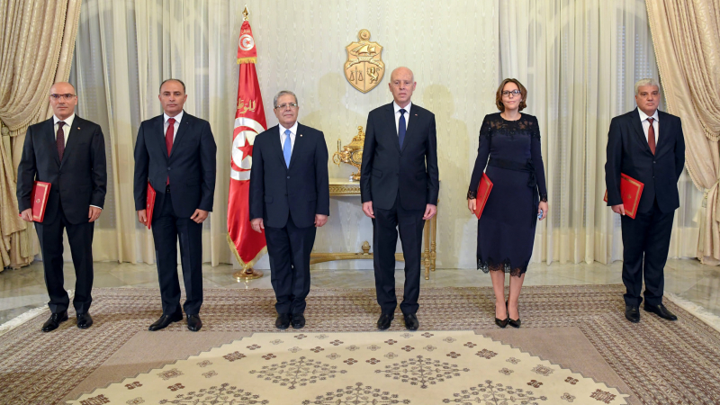 رئيس الجمهورية يسلم أوراق اعتماد 4 سفراء جدد لتونس بالخارج