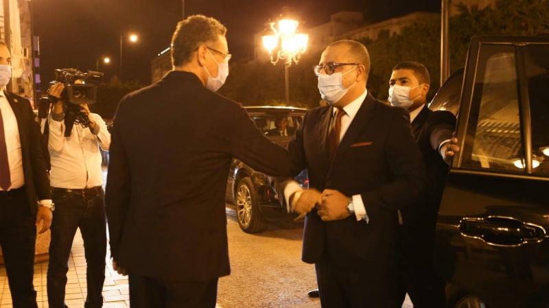 المشيشي يؤدي زيارة تفقدية غير معلنة إلى وزارة الداخلية