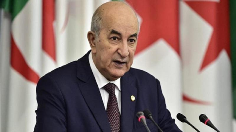 الرئيس الجزائري في الحجر الصحي