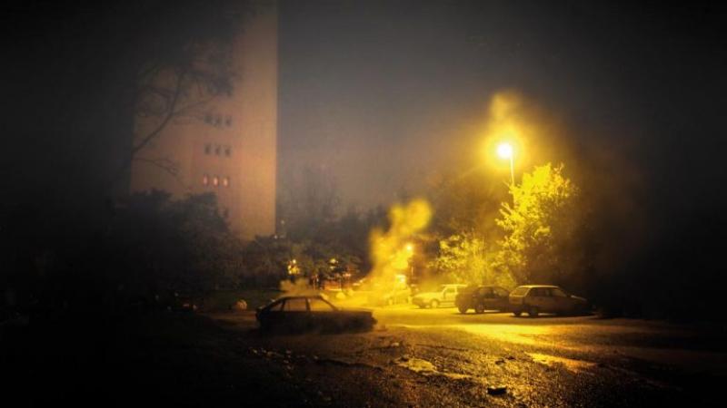 العاصمة : تهشيم أكثر من 10 سيارات في معركة عنيفة بين شبان