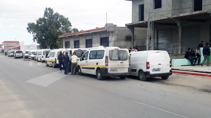 القيروان: إضراب مفاجئ للنقل الريفي وسط حالة من الاحتقان